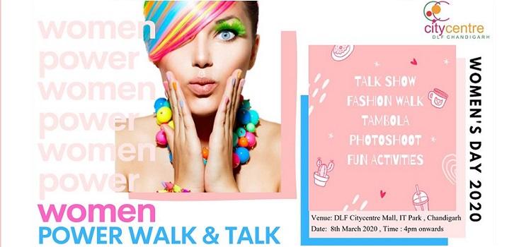 Women Power Walk & Talk At DLF Mall Chandigarh