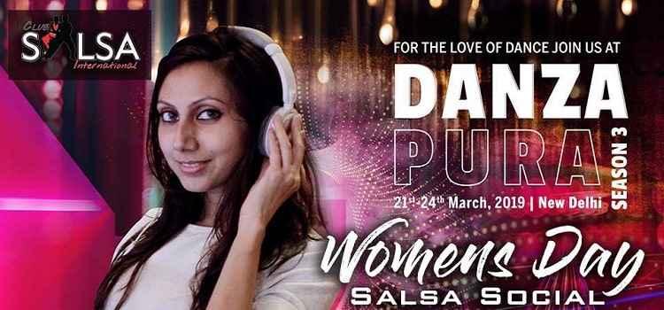 Womens Day Salsa Social At Upstairs Club