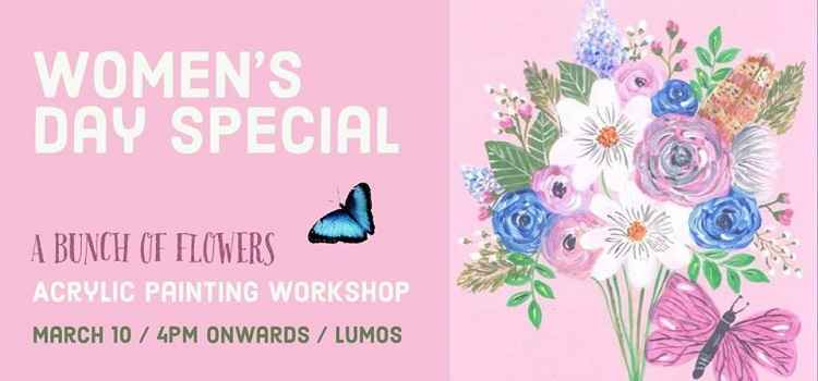 Women's Day Special - Acrylic Painting Workshop