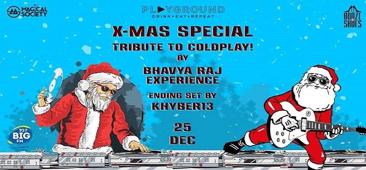 X'Mas Special Night At Playground Chandigarh