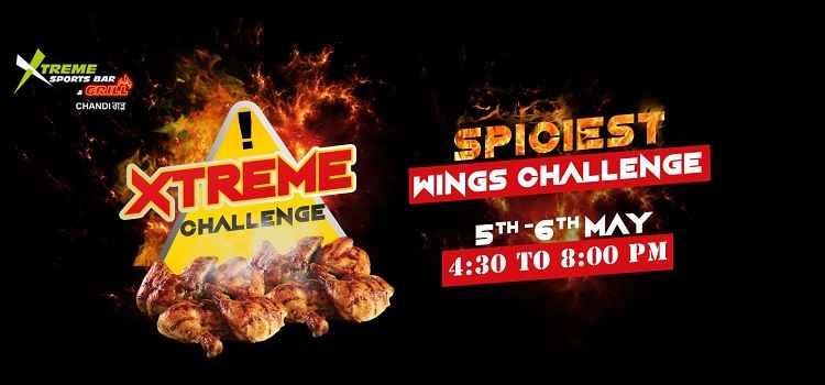 Xtreme Wings Challenge- It's Hottest Than You Realize
