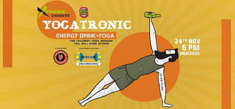 Yoga+Energy Drinks+Great Company= Yogatronic At Xtreme Sports Bar, Chandigarh