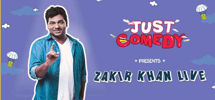 Laugh Your Wits Out With The Sakht Launda Zakir Khan at Just Comedy, Ludhiana!