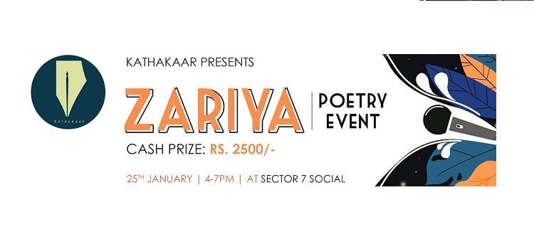 Zariya Poetry Event At Social Chandigarh by Social Sector 7
