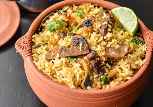 Dum Yum Hyderabadi Biryani