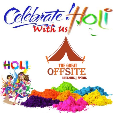 Holi Celebrations At The Great Offsite Chandigarh