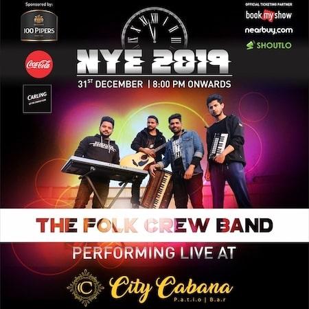 New Year Party @ City Cabana