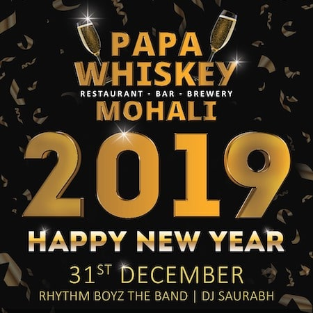 New Year Party @ Papa Whiskey