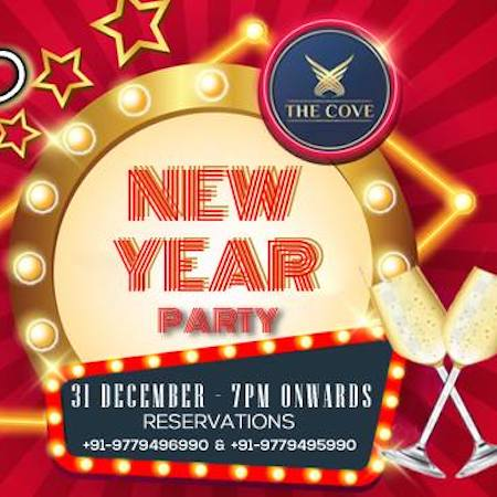 New Year Party @ Puzzles   The Cove