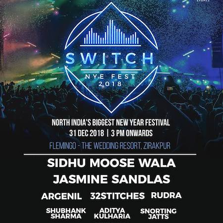 New Year Party @ Switch NYE Fest 2018