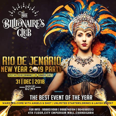 New Year Party @ The Billionaire's Club