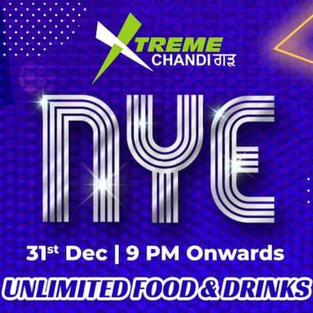 New Year Party @ Xtreme Chandigarh