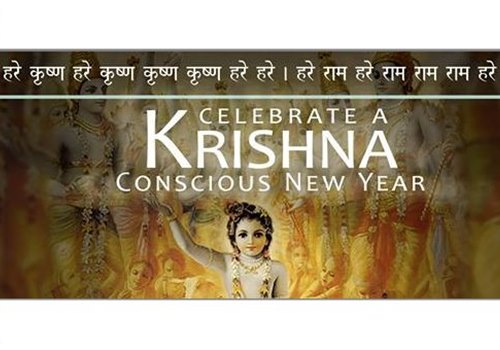 New Year Party @ Iskcon Temple