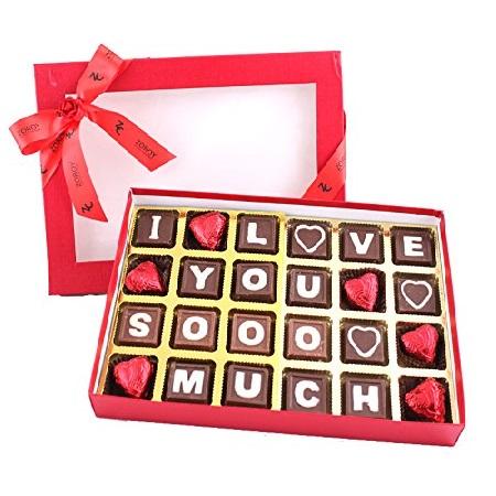 Zoroy Chocolates Saying I Love You