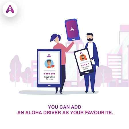 launch of aloha cab services in chandigarh