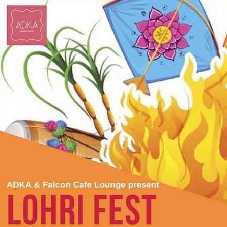 lohri fest falcon cafe panchkula