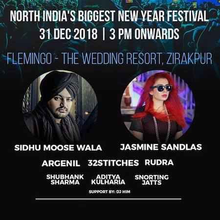north indias biggest new year festival an insane night at flemingo the wedding resort zirakpur