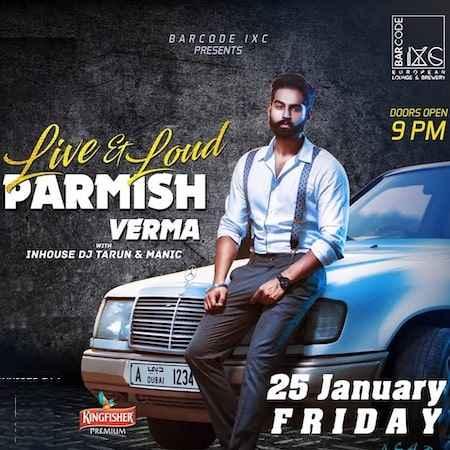 parmish verma live barcode chandigarh jan 2019