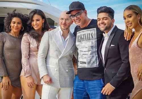 pollywood meets hollywood desi chartbuster guru randhawa collaborates with international rapper pitbull