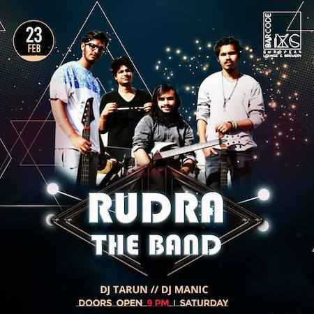 saturday night with rudra band barcode chandigarh feb 2019